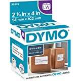 "DYMO Authentic LW Shipping Labels | DYMO Labels for LabelWriter Label Printers (2-1/8"" x 4""), 1 Roll of 220"