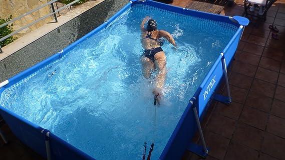 Nadathlon 001 Nadador Estático, Azul, Talla Única: Amazon.es ...