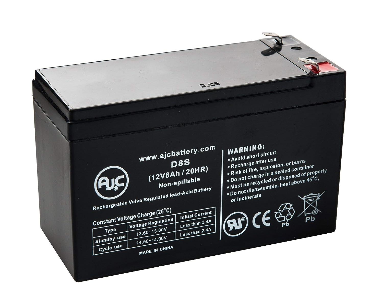 APC Back-UPS 400 BK400B 12V 8Ah UPS/USV Akku - Dies ist EIN AJC® Ersatz