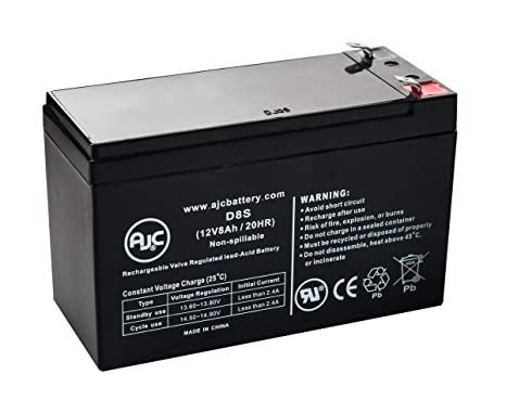 APC Back-UPS ES 650 12V 8Ah UPS Battery - This is an AJC Brand Replacement