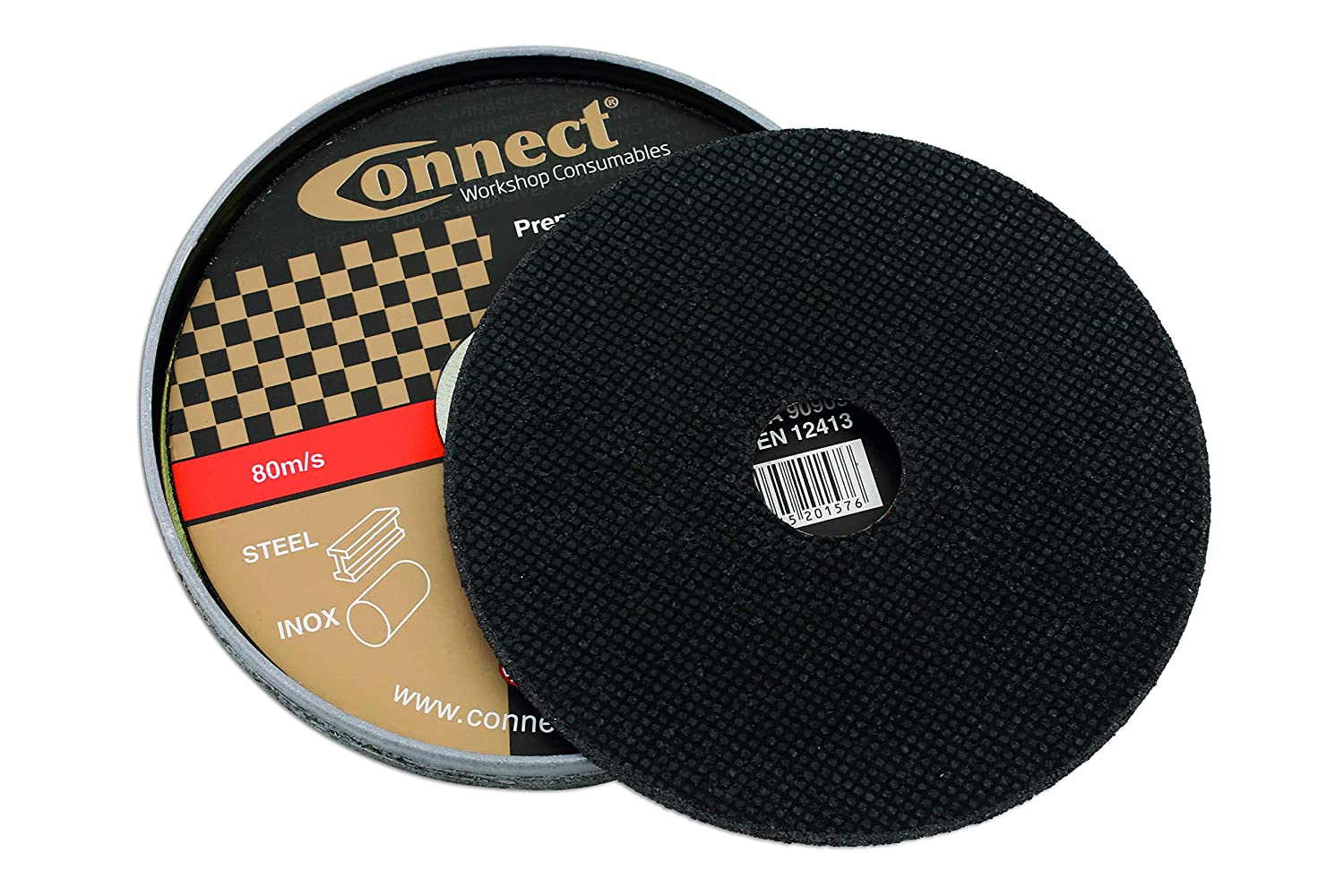 Set of 10 Laser Connect 32251 Extra Thin Discs 115 x 1.0 mm