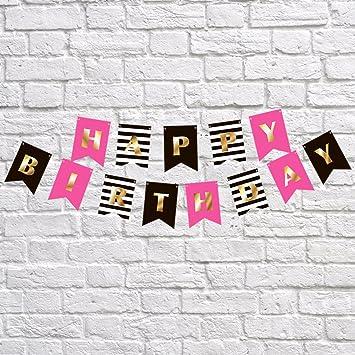 Amazon.com: RainMeadow - Decoración para cumpleaños, color ...