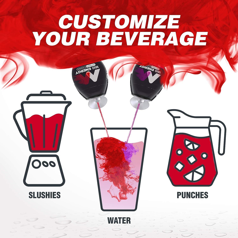 MiO Energy Black Cherry Liquid Water Enhancer Drink Mix (1.62 fl oz Bottle) : Grocery & Gourmet Food
