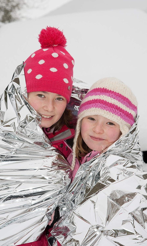 Emergency Mylar Foil Rescue Blanket 52 x 84 Ardes