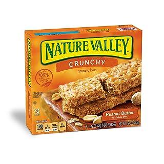 Nature Valley Granola Bars, Crunchy Peanut Butter, 8.94 oz