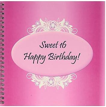3drose Db 38834 1 Pink Sweet 16 Geburtstag Zeichnen Buch 8 Von 20