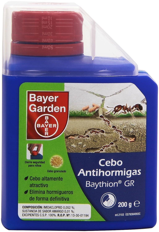 Bayer Garden Baythion - Cebo antihormigas granulado para exteriores ...