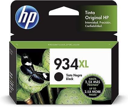 HP 934XL C2P23AE, Cartucho de Tinta Original de alto rendimiento ...