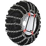 The ROP Shop Pair 2 Link TIRE Chains 18x9.5x8 18x8.5x10 19x9.5x8 for UTV ATV 4-Wheeler Quad 5558999371