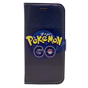 ebb7bf8b0d iPhone 7 Pokemon PU Leather Flip Wallet Case: Amazon.co.uk: Electronics