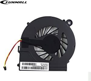 SUNMALL Replacement CPU Cooling Fan for HP Pavilion G7-1000 G6-1000 G4-1000 Compaq CQ42 CQ62 CQ56 CQ56z G62 G42 Presario CQ62z G62t G62m G62x G42t 646578-001 KSB06105HA Series(3 Pin 3 Connector)