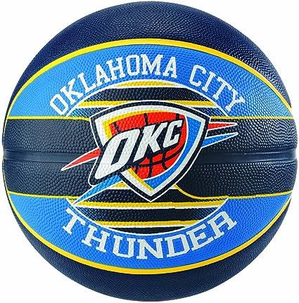 Spalding NBA Team Oklahoma City 83-513Z Balón de Baloncesto ...