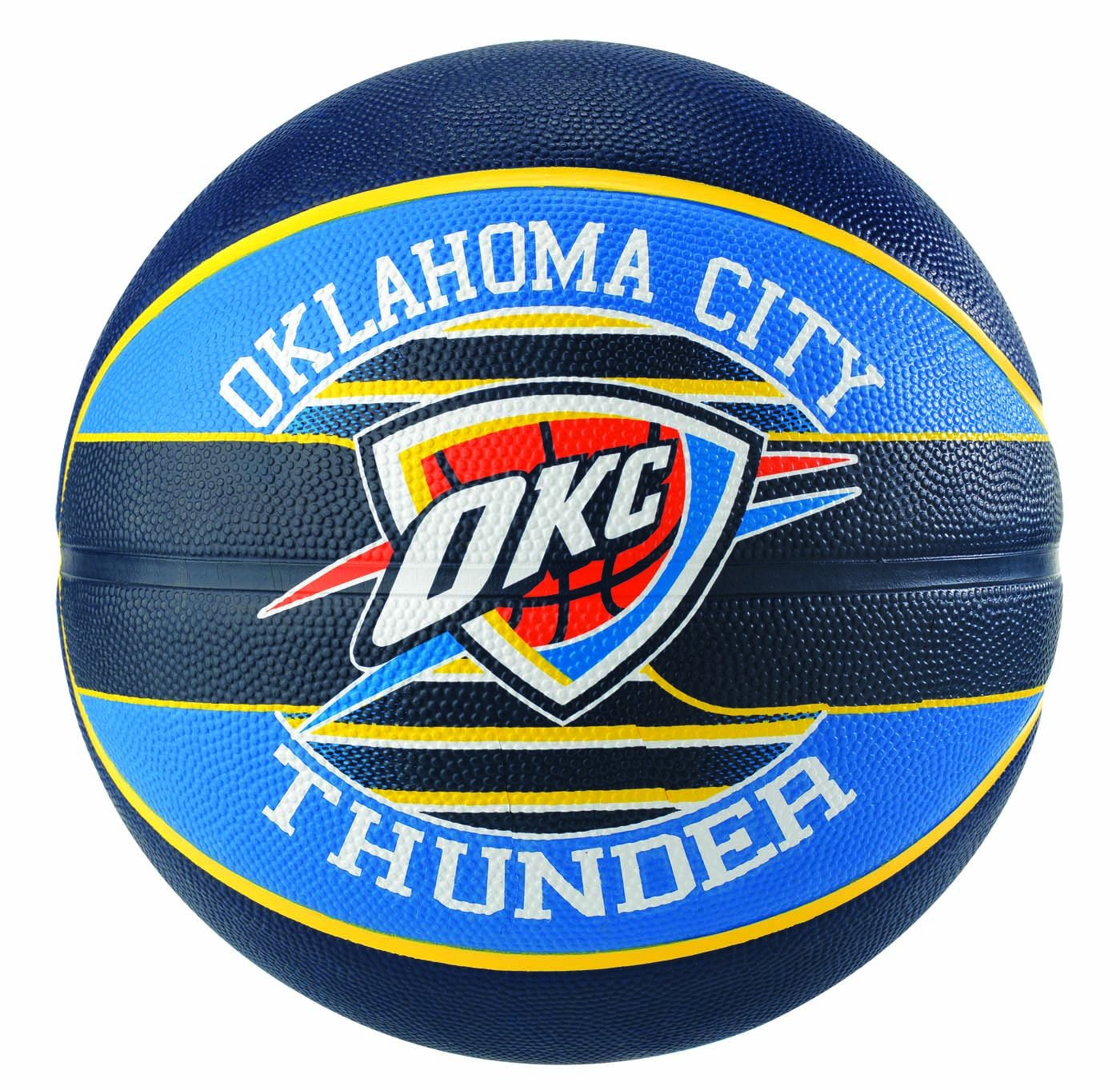 Spalding NBA Team Oklahoma City Sz. 7 (83–513z) – Multicolore Multicolore 7.0 SPAA3|#Spalding 3001587013917