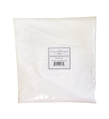 Tranquility Products 10lbs Epsom Salts/Magnesium Sulfate