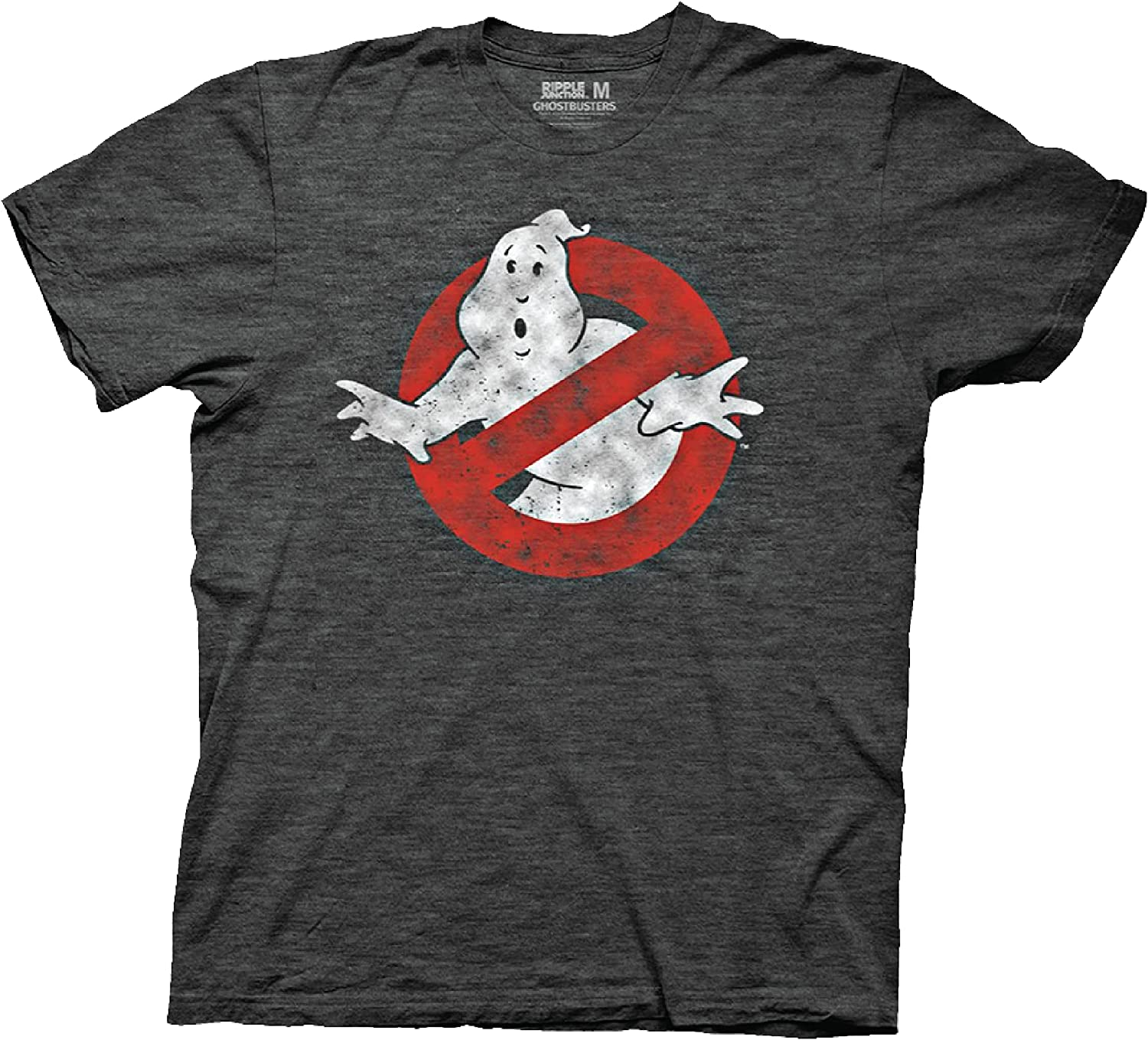 Ripple Junction Ghostbusters Distressed No Ghost Logo