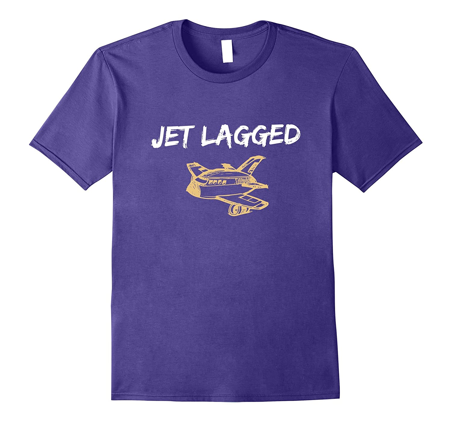 Jet Lag Made Me Do It T-Shirt-T-Shirt