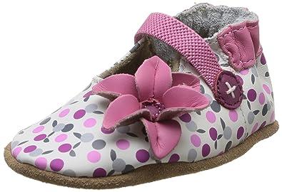 grand Prix magasiner pour authentique mieux aimé Robeez Kennedy, Chaussons bébé fille - Multicolore (33), 23 ...