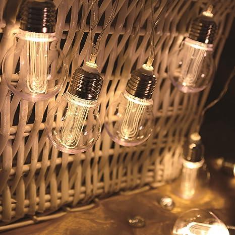 LUMI JARDIN Guirlande Lumineuse Ampoule Filament lumière ...