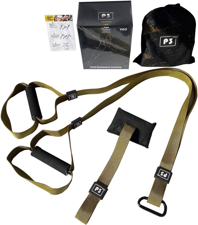 Entrenamiento En SuspensióN Sling Trainer Set TRX All-In-One Entrenamiento De Cuerpo Entero para Casa Viajes Y Al Aire Libre para MúSculos Quemar ...