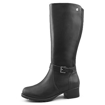 Comfy Moda Women's Fur-Lined Wide-Calf Winter Boots Emma | Snow Boots