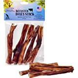 Natural Cravings USA Roasted Bully Sticks for Dogs 5 pack 5 inch Odor Free Dog Chews Natural Cravings