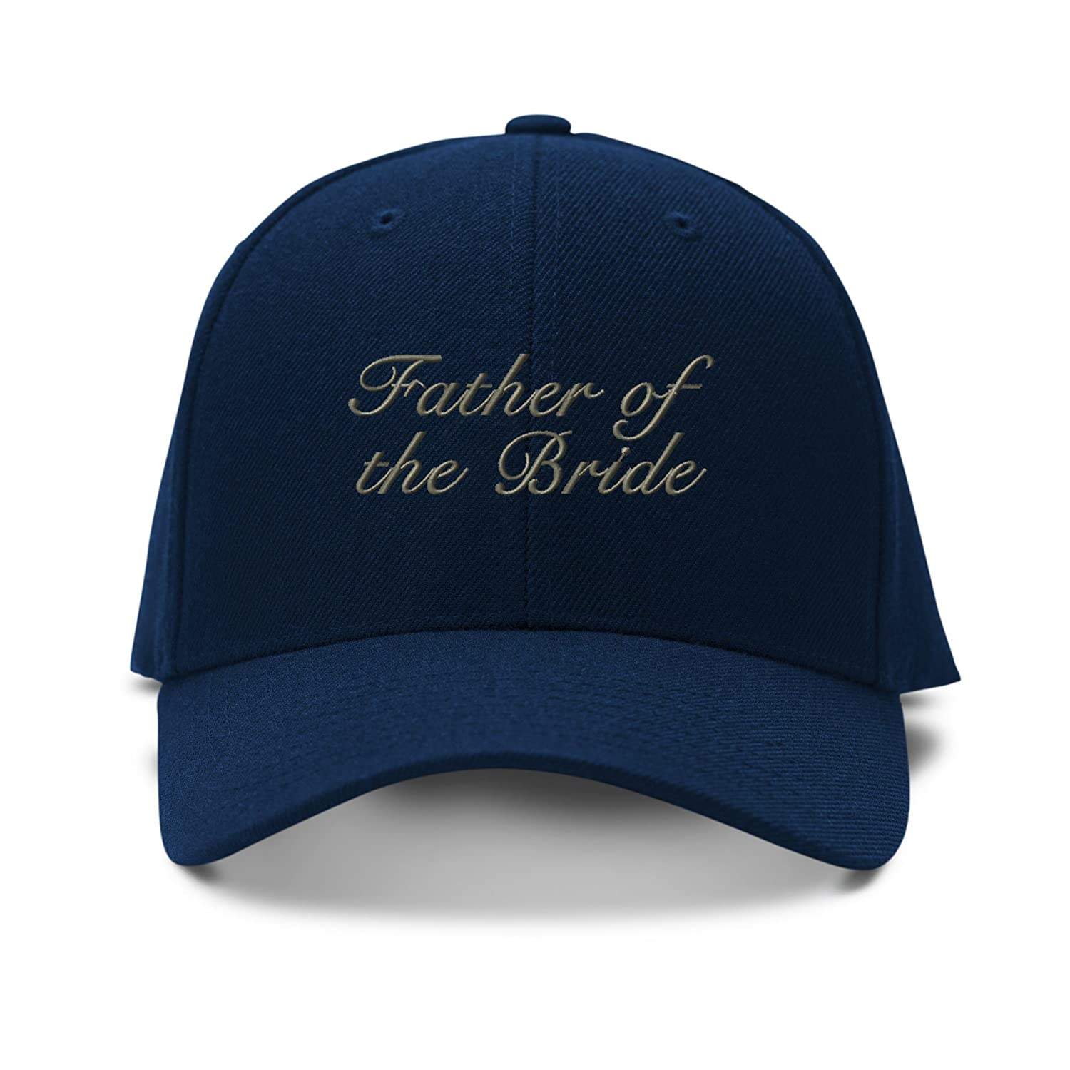 Amazon.com  Speedy Pros Father of The Bride Married Embroidery Adjustable  Structured Baseball Hat Navy  Clothing 963e1d89951d
