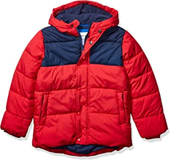 Amazon Essentials Heavy-Weight Hooded Puffer Coat Niños