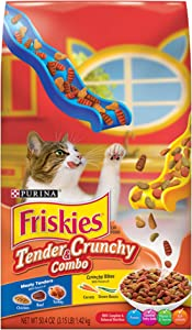 Purina Friskies Tender & Crunchy Combo Adult Dry Cat Food 3.15Lb (Pack Of 6)
