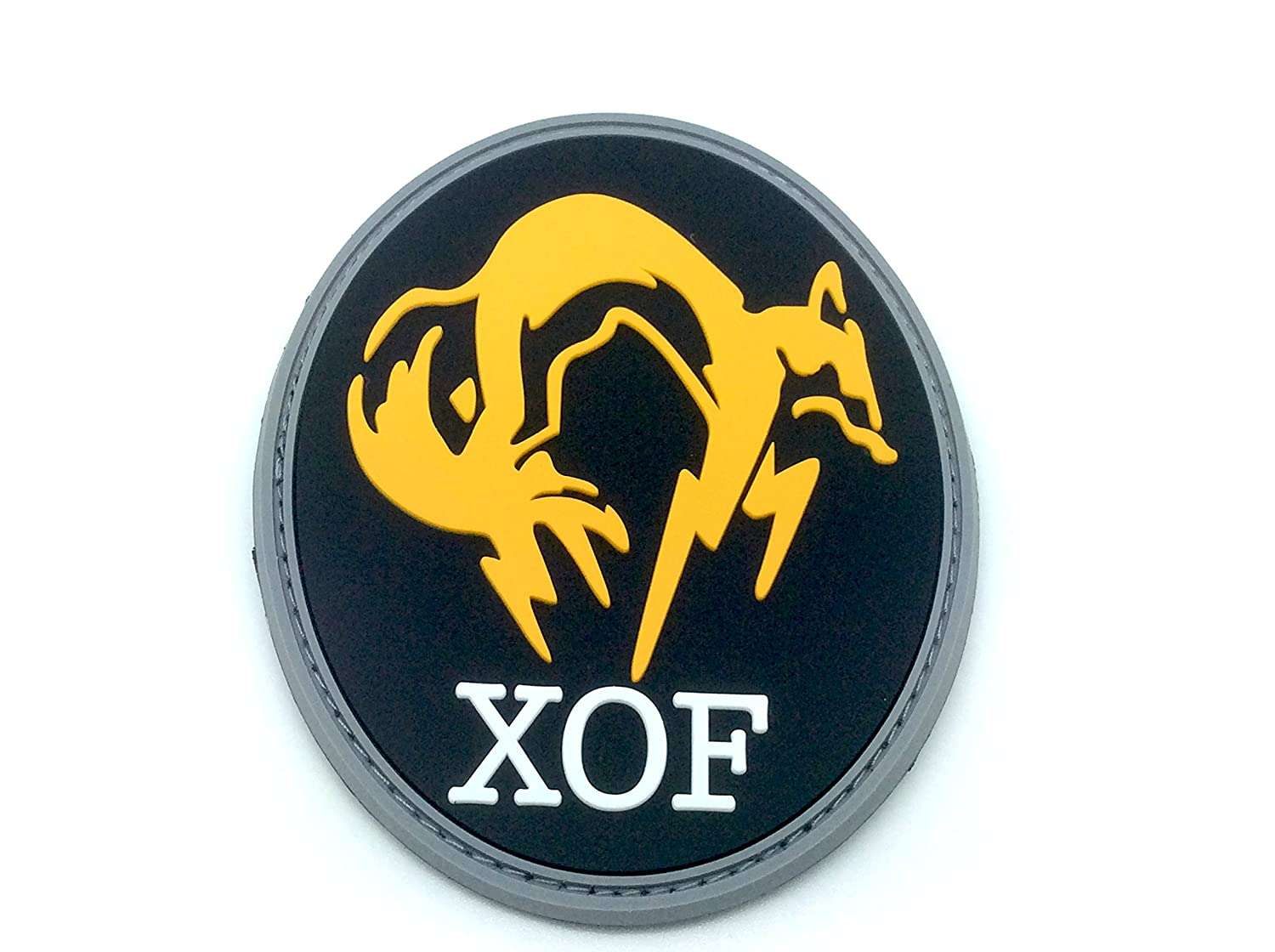 XOF Foxhound Negro Metal Gear Solid PVC Airsoft Patch Patch Nation