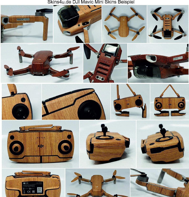 Skins4u Design Aufkleber f/ür DJI Mavic Mini Skin Skin Vinyl Folie Schutzfolie Folierung Sticker Motiv Wasp