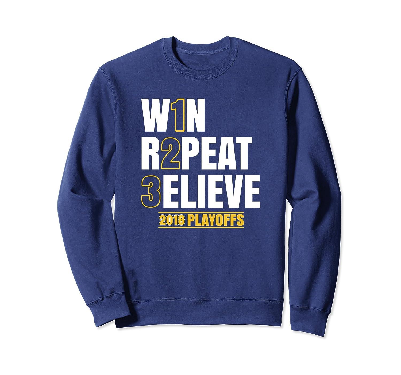 3ELIEVE Sweatshirt Believe in 3 Peat Sweatshirt 2018 Playoff-TH