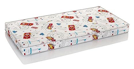 Hevea Cars de Disney junior Lux colchón látex natural (160 x 70 cm)