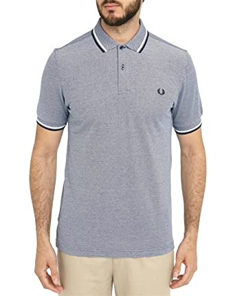 f7533b04a Fred Perry Mens Light Blue Twin Tipped Regular Fit Polo Shirt L: Fred Perry:  Amazon.co.uk: Clothing