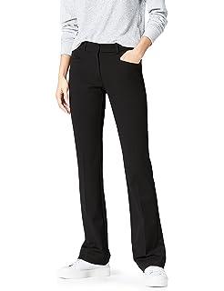 00df41ffba239 FIND Pantalon Pattes d Éléphant Taille Haute Femme  Amazon.fr ...