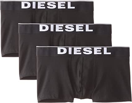 TALLA L. Diesel Umbx-Kory, Bóxer para Hombre, (Pack de 3)