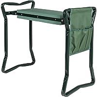 Best Choice Products Foldable Garden Kneeler w/ Bonus Tool Pouch