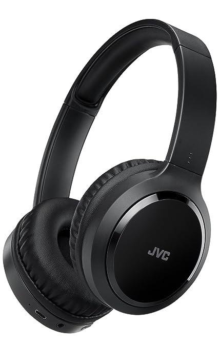 JVC HA-S80BN-B-E Diadema Binaural Inalámbrico y Alámbrico Negro - Auriculares (Inalámbrico