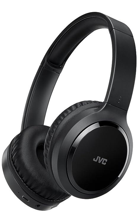 JVC HA-S80BN-B-E Diadema Binaural Inalámbrico y Alámbrico Negro: Jvc: Amazon.es: Electrónica