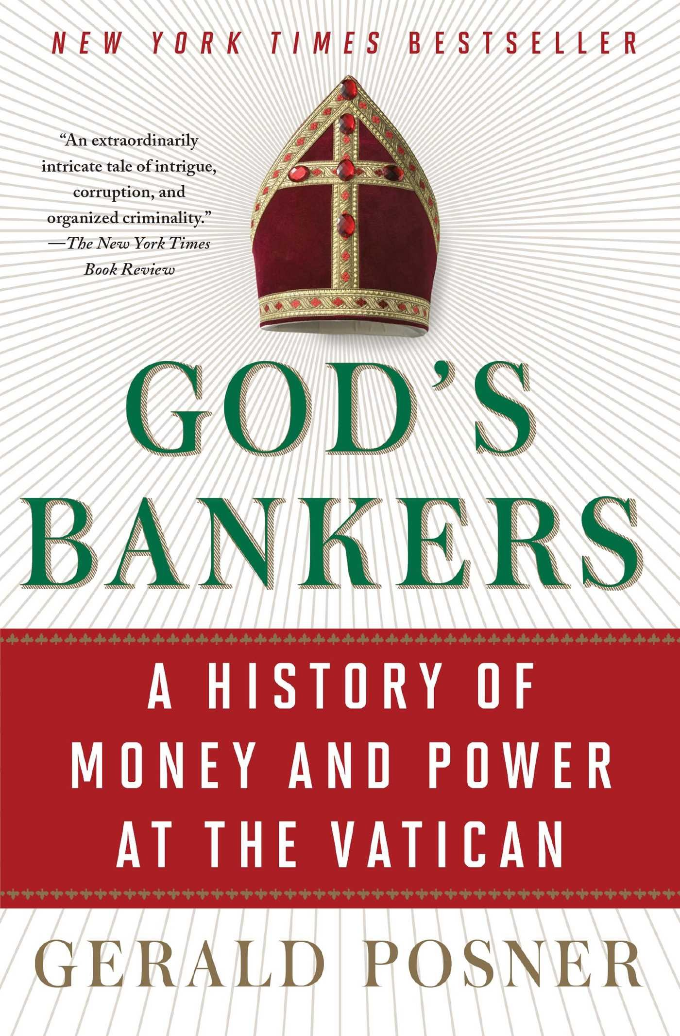 Amazon gods bankers a history of money and power at the amazon gods bankers a history of money and power at the vatican 9781416576594 gerald posner books fandeluxe Choice Image