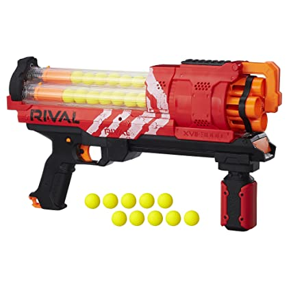 The Nerf Zombie Strike Doominator is the blaster of choice for defending  against large zombie hordes. Fire 1 dart at a time when the situation calls  for ...