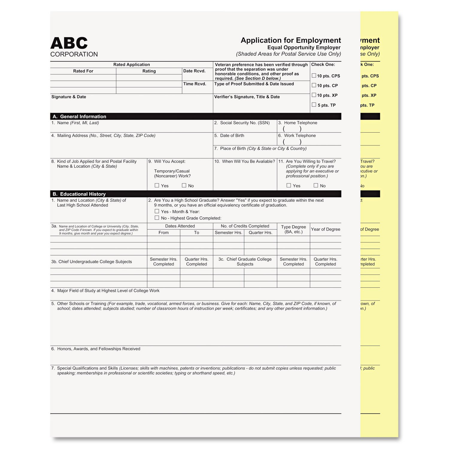 PMC59104 - Pm Company Digital Carbonless Paper 9157371