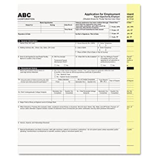 Digital Carbonless Paper, 8-1/2 x 11, Two-Part, White/Canary, 1250 Sets/Carton, Sold as 1 Carton