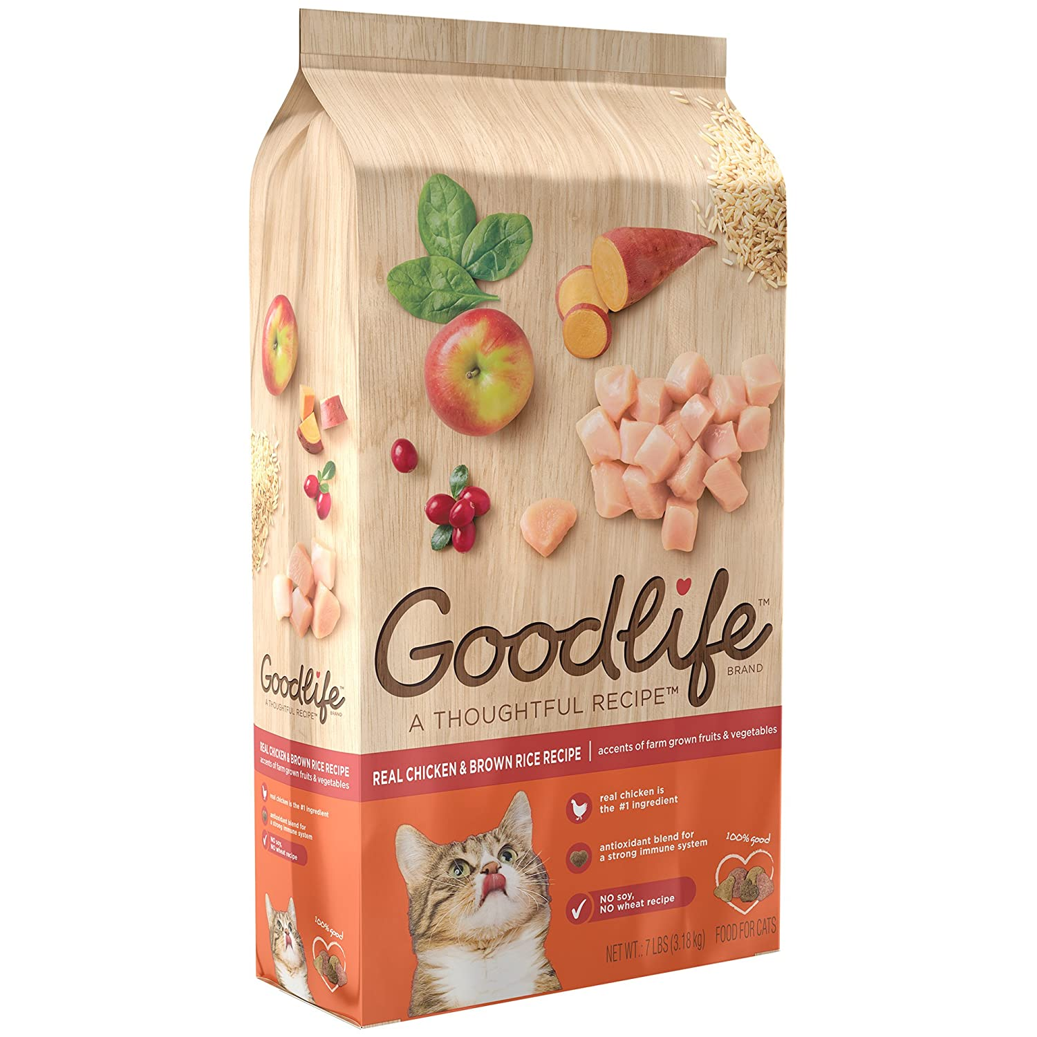 The Goodlife Recipe Cat Food Ingredients