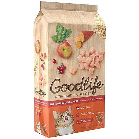 Amazon.com: Alimento seco para gatos adultos Goodlife: Mascotas