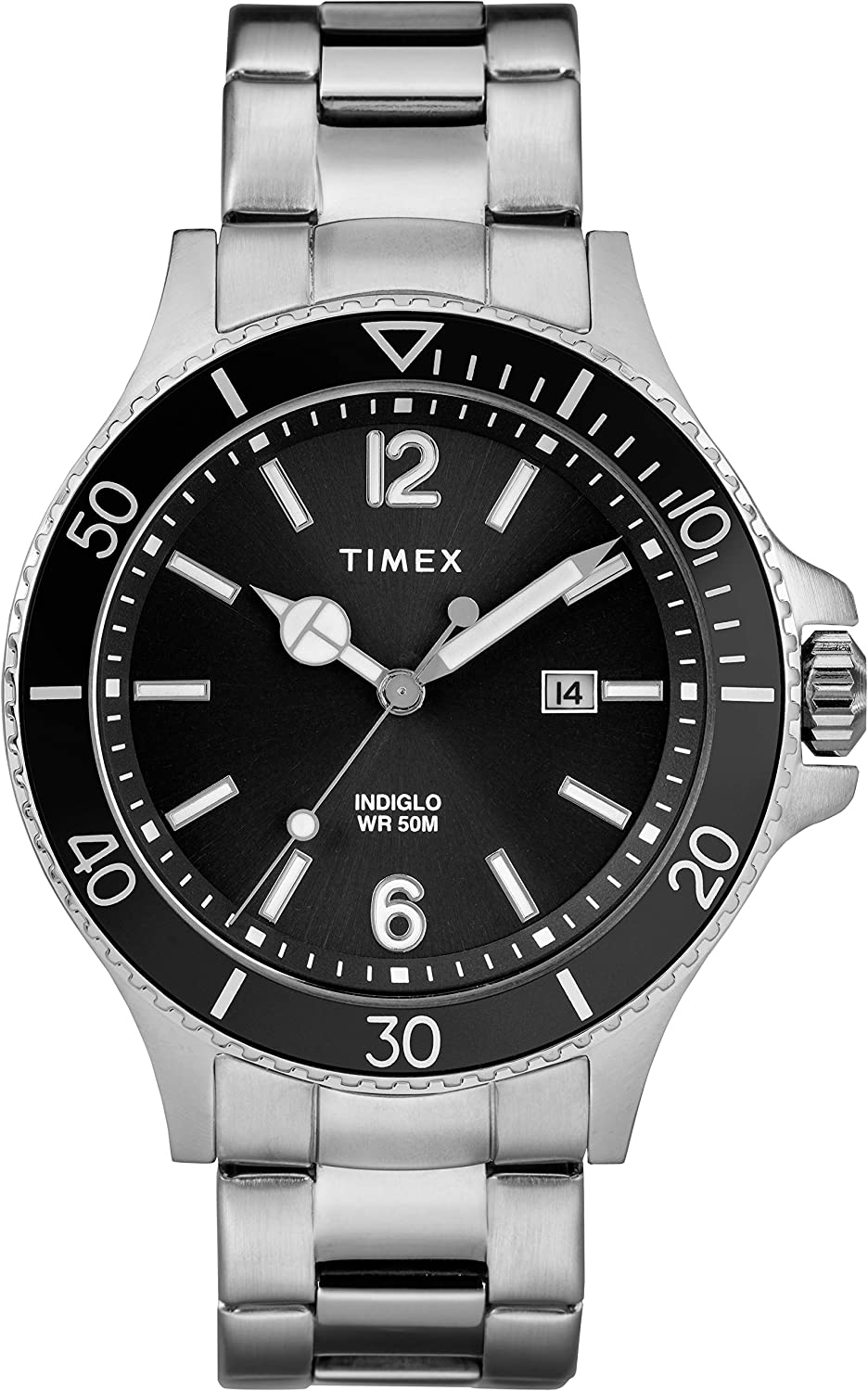 CDM product Timex Men's Harborside Classic Stainless Steel Bracelet Watch (Model:TW2R64600GP) big image
