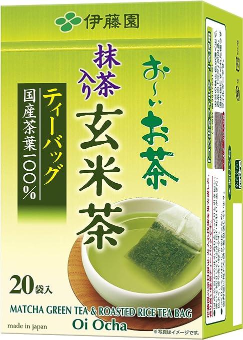 伊藤園 おーいお茶 抹茶入玄米茶 ティーバック 20袋