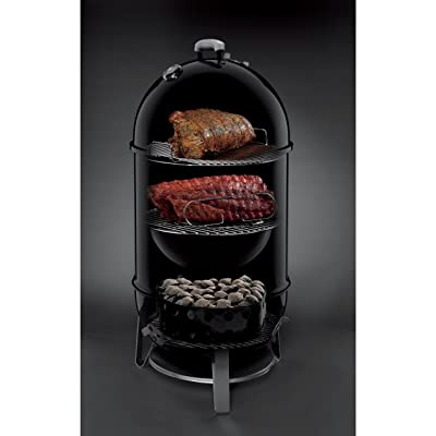 Weber 721001 Smokey Mountain Cooker 18-Inch Charcoal Smoker