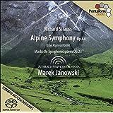 Strauss: Sinfonia Alpina, Macbeth / Pittsburgh Symphony Orchestra - Janowski