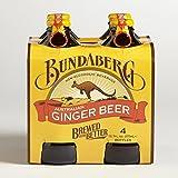 Bundaberg Ginger Beer Non-alcoholic Beverage (Australia) 4-pack 375ml