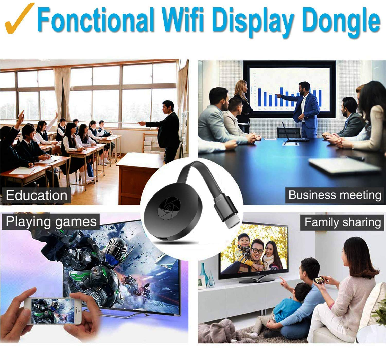 MeterMall Fashion per Android//iOS Wireless HDMI Display Dongle HD Mobile TV proiezione Video Trasmissione